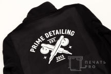 Черные толстовки с логотипом «PRIME CLUB»